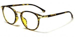 Glasögon utan styrka unisex nerd Saltopeppar