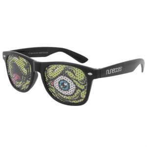 Roliga annorlunda glasögon Zombie