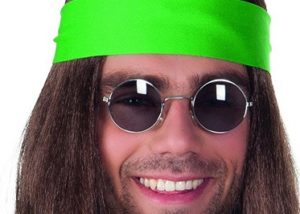 Roliga annorlunda glasögon hippie