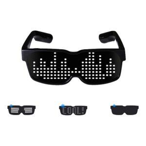 Roliga annorlunda glasögon led bluetooth