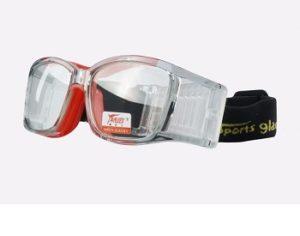 Sportglasögon innebandy med styrka