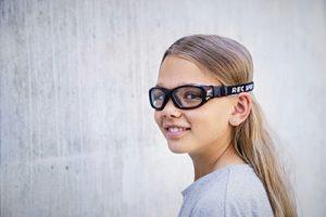 sportglasögon barn med o utan styrka